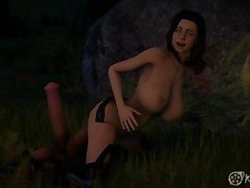 Mass Effect Hentai, boobs, cock, creampie, tits, dicks, cartoon, miranda, mass, effect, riding, shiny, babe, sexy, slut, video, game, dick, 60fps