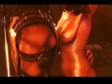 Mortal Kombat Hentai, anime, sfm, cartoon, 60fps