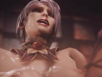 Soul Calibur Hentai, bukkake, tits, gangbang, facial, cartoon, 3d, cumshot, cum, boobs, anime
