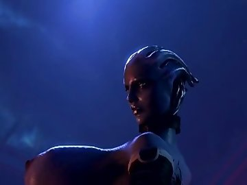 Mass Effect Hentai, 60fps, sexy, liara, effect, mass, dick, tits, ass, game, video, cartoon, babe, cock, boobs, butt