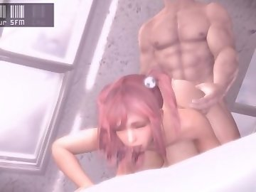 Dead or Alive Hentai, cartoon, amateur, yoursfm, filmmaker, source, honoka, deadoralive, anime