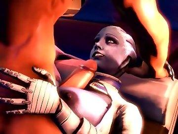 Mass Effect Hentai, massage, cumshot, cartoon, game, video, slut, milf, tits, cumshots, fuck, titty, job, tit, effect, mass, samara, liara, boobs