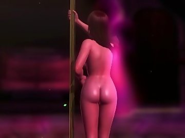 Dead or Alive Hentai, dead, alive, nude, pole, dance, mod, leifang, point, view, teasing, asian, striptease, cartoon, 60fps, cosplay, dead or alive