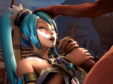 Legend of Zelda Hentai, lana, 3d, hentai, sfm, handjob, cumshot, legend, zelda, doggystyle, cartoon, parody