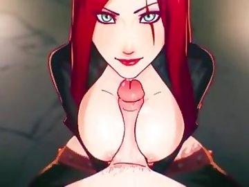 League of Legends Hentai, anime, bobjob, blowjob, cumshot, cartoon, cosplay, league of legends