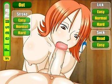 One Piece Hentai, point, view, piece, nami, pov, animated, mnf, cartoon, one piece sex
