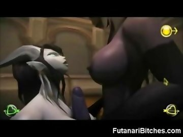 World of Warcraft Porn, anime, 3d, futanari, warcraft, dickgirl, hermaphrodite, monster, hentai, toon, fantasy, shemale, cartoon, manga, busty, tits, tranny