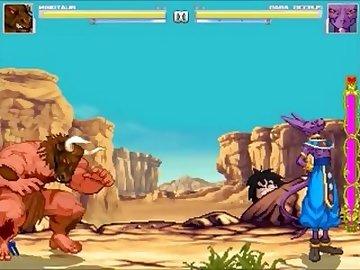 DragonBall Z Hentai, pixel, hentai, game, video, mugen, sprite, beerus, minotaur, dragon, ball, art, bareback, gay, cartoon, dragon ball z