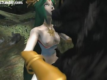 Legend of Zelda Hentai, cartoon, 60fps, anime, point, view, sfm, 3d, palutena, zelda, pov