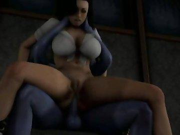 Mass Effect Hentai, anime, cartoon, hentai, 3d, mass, effect, asari, human, interspecies, tsoni, riding, miranda, sex, lawson, futanari, shemale, dickgirl, female, liara