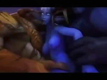World of Warcraft Porn, ass, fuck, group, butt, world, warcraft, 3d, cartoon, orgy, blonde, cumshot, hardcore, anal, cosplay