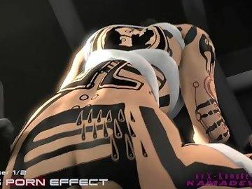 Mass Effect Hentai, anime, mass, effect, cartoon, hentai, futa, dickgirl, sfm, source, filmmaker, animated, me3, kamadeva, kamadevasfm, mrkama, 3some, threesome, 3d, shemale