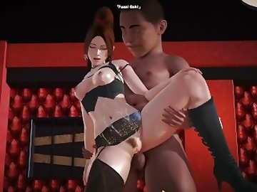 Dead or Alive Hentai, party, dead, alive, cartoon, 60fps, anime, king, fighters, mai, shiranui, hentai, roy12, honey, select, dead or alive