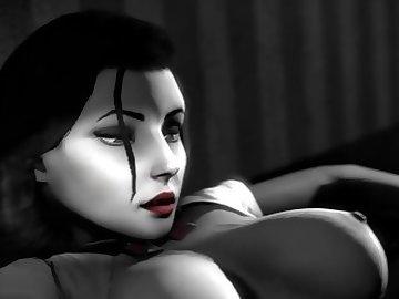 Bioshock Infinite Hentai, hmv, music, bioshock, cartoon, sfm