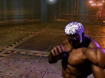 Street Fighter Hentai, femdom, dominatrix, juri, street, fighter, butt, bdsm, uncensored, hentai, ass, sex, cartoon