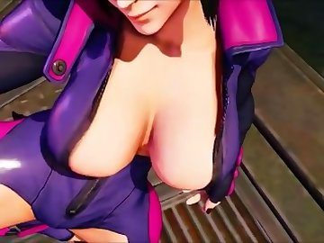 Street Fighter Hentai, femdom, dominatrix, juri, street, fighter, butt, bdsm, uncensored, hentai, ass, sex, cartoon