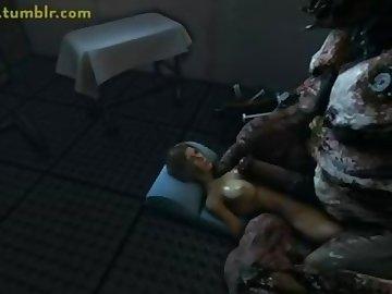 Lara Croft Porn, cock, monster, lara, croft, bulge, hardcore, dick, brunette, creampie, cartoon
