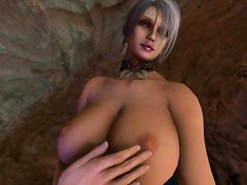 Soul Calibur Hentai, boobs, butt, hentai, porn, solo, female, soul, calibur, ivy, valentine, ass, tits, anime, cartoon