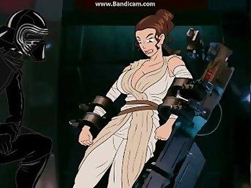 Star Wars Porn, cartoon, star, wars
