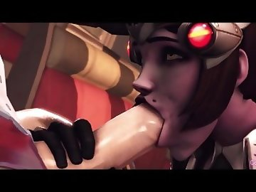 Overwatch Porn, overwatch, futa, cock, shemale, cartoon