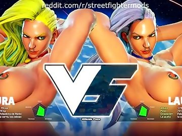 Street Fighter Hentai, kink, sexy, gamer, sfv, street, fighter, tits, fetish, cartoon