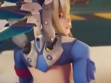 Overwatch Porn, mei, anal, pov, ass, dick, fuck, butt, cock, overwatch, mercy, tracer, cartoon, 60fps