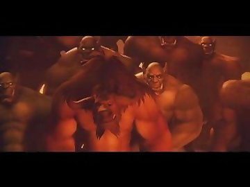 World of Warcraft Porn, sfm, warcraft, world, gangbang, sylvanas, windrunner, studiofow, studio, fow, bukkake, cumshot, cartoon