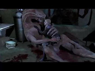Resident Evil Porn, sex, monster, jill, valentine, resident, evil, cock, anal, cartoon