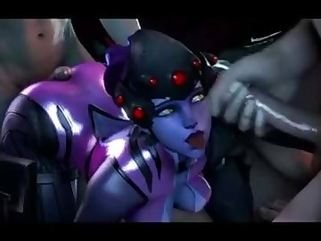 Overwatch Porn, butt, boobs, 60fps, sfm, overwatch, ass, tits, cartoon