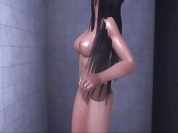 Dead or Alive Hentai, ass, fuck, nude, shower, amateur, babe, anal, cartoon