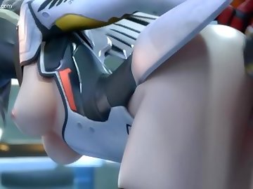Overwatch Porn, butt, ass, overwatch, video, game, mercy, soldier, 76, doggystyle, sfm, animation, anime, hentai, animated, porn, doggy, cartoon