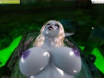 World of Warcraft Porn, point, warcraft, view, world, anime, whorecraft, 3d, kink, sexvilla, lady, straight, hairy, sylavanas, pussy, bush, fun, times, zombie, pov, cartoon, parody