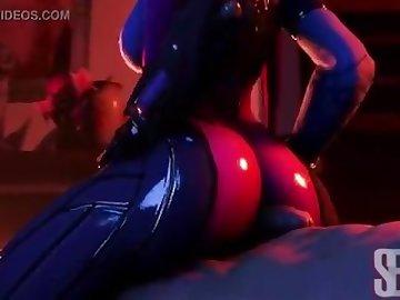 Overwatch Porn, point, view, butt, assjob, anime, ass, pov, overwatch, buttjob, widowmaker, cartoon, overwatch