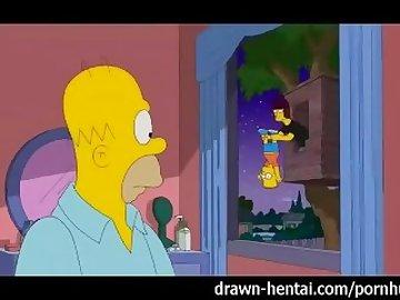 Simpsons Porn, drawnhentai, simpsons, parody, homer, marge, mature, blowjob, ass, upclose, cumshot, facial, cock, sucking, boobs, milf, tits, sex, cartoon