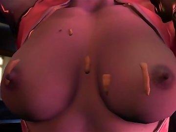 Overwatch Porn, sexy, ass, anal, pov, cartoon, 60fps, overwatch