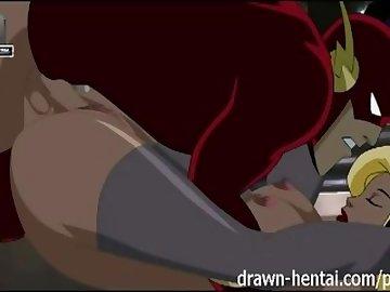 justice, drawn, hentai, anime, cartoon, justice, league, parody, animation, creampie, blowjob, titfuck, black, canary, flash, blonde, fishnet, superhero, tits, uniforms