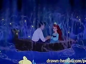 Ariel Hentai, disney, porn, mermaid, nude, ariel, sex, funny, red, head, cartoon