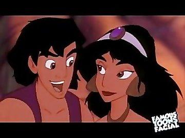 Disney porn, alladin, jasmine, disney, porn, cartoon, sex, hardcore, funny