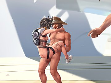 swf, porn, gang bang, hentai, quick, big cocks, hanzo, mccree, gangbang, overwatch, tracer, reaper