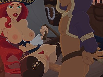 swf, league of legends, cumshot, red hair, xxx, hentai, anal penetration, miss fortune, anal