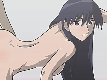 swf, hentai, fast, tease, rub, azumanga daioh, skinny, brunette, big cock, facial, sakaki, cumshot, creampie, anal