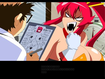 swf, red hair, pussy, gurren lagann, breast expansion, big boobs, gurren lagann (tengen toppa), doctor, young & old, threesome, redhead, big ass, doctor girlfriend, yoko littner, cumshot, creampie