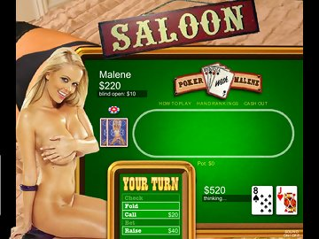 swf, xxx game, strip, big boobs, flash game, poker, malene