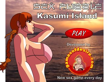 swf, puzzle, parody, henta, big black cock, big boobs, gangbang, dead or alive (doa), kasumi, cumshot