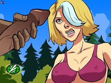 swf, sexy blonde, superheroes, porn, sex, cartoon, animation, captain planet