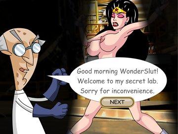 swf, parody, hentai, fucking machine, anal dildo, brunette, big tits, wonder woman, cumshot