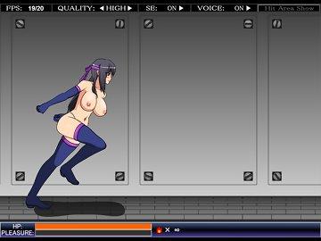 swf, sexy girl, beat 'em up, side-scroller, arcade, aliens, xenophilia, hentai, ninja, shinobi girl, anime, rough sex