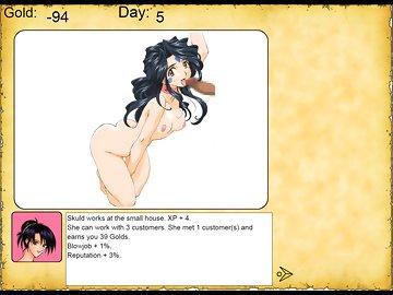 swf, economy, brothel, simulator, parody, hentai, ah my goddess, anime, belldandy