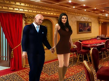 swf, casino, passion, match, main, hero, meets, married, couple, spending, honeymoon, husband, spentall, money, bets, playhis, youthful, wife