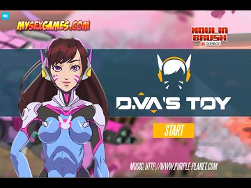 swf, porn game, adult flash game, hard sex, robot, overwatch, d.va